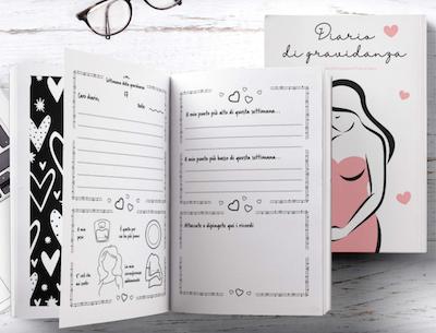 diario di gravidanza libro