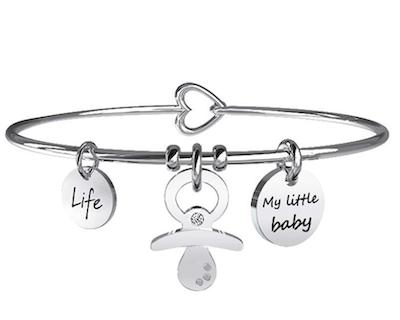 braccialetto ciuccio my little baby kidult